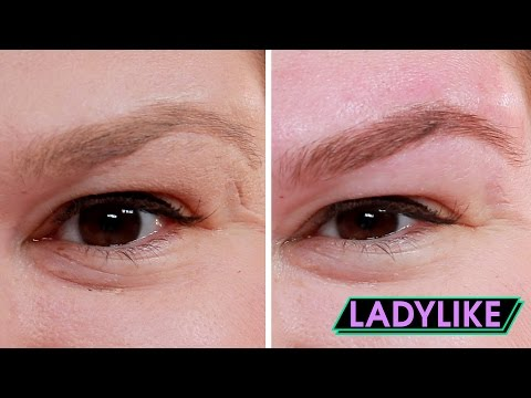 Thumbnail: Women Get Their Ideal Eyebrows • Ladylike