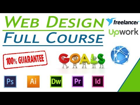 Web Designing Full Course In Hindi 2019.  Must Watch Web Design Tutorial For Beginners!!