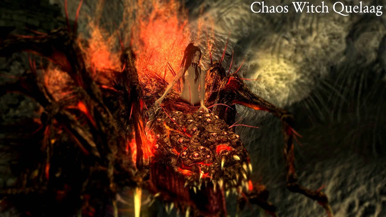 Girl Boss Wallpaper Hd Dark Souls Dialogue Chaos Witch Quelaag Unused Youtube