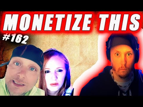 Monetize This ! #162 -  DRINKING - NO SOLO for me !