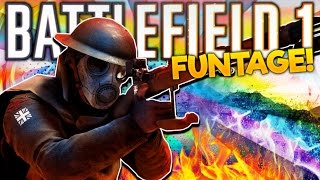 Battlefield 1 Funtage! - Trolling Fails, Raging Beerculeess, MinnesotaJones (BF1 Funny Moments)