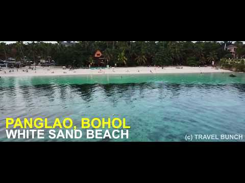 Drone/ Aerial Shot - WORLD'S BEST White Sand Beach at Panglao Island, Bohol