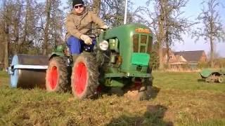 holder c30 und a12 im einsatz frontlader frse walze teil 3 tractor trecker schlepper
