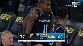 Men's Basketball Highlights: Cincinnati 77, UCLA 63 (Courtesy CBS Sports)