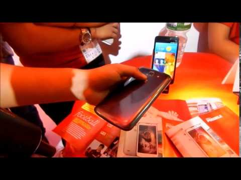 Huawei G730 Hands On - ICT 2014 Nepal