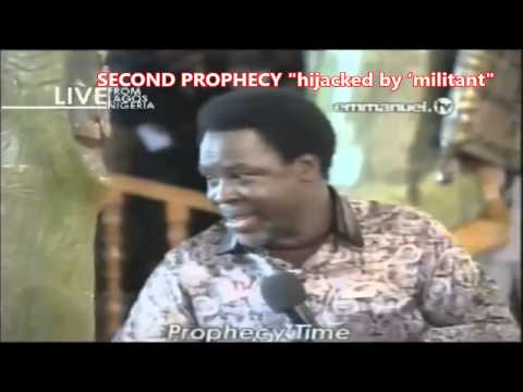 TB Joshua's Words - Prophecy On Pope Francis and Plane Kidnapping 07:09:14
