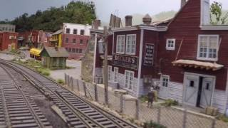 HO Scale - D&H Railroad Layout
