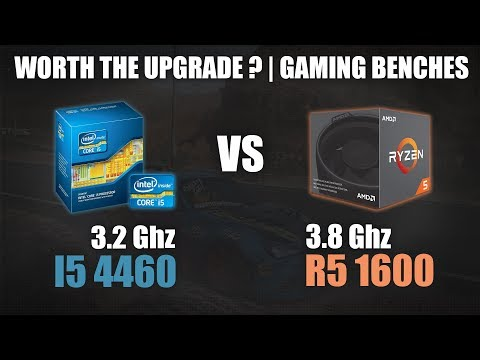 Core i5 4460 vs Ryzen 5 1600 | Worth the Upgrade? | Gaming Benchmarks | 720p & 1080p