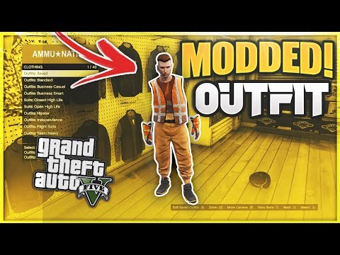 GTA 5 How To Get Invisible Parts \u0026 Vest Modded Outfits 1.48! (GTA 5 Online Clothing Glitches 1.50)