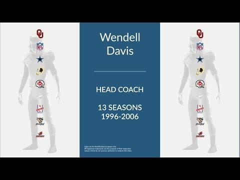 Wendell Davis: Football Head Coach and Cornerback