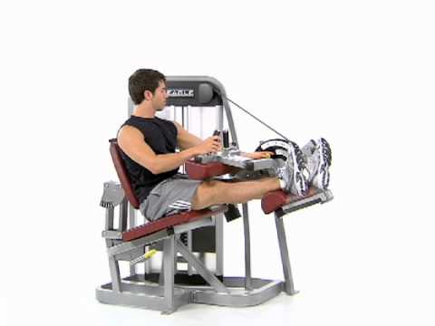 Unilateral Leg Curl  - Cybex Eagle Seated Leg Curl