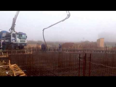 Доставка бетона на строительную площадку