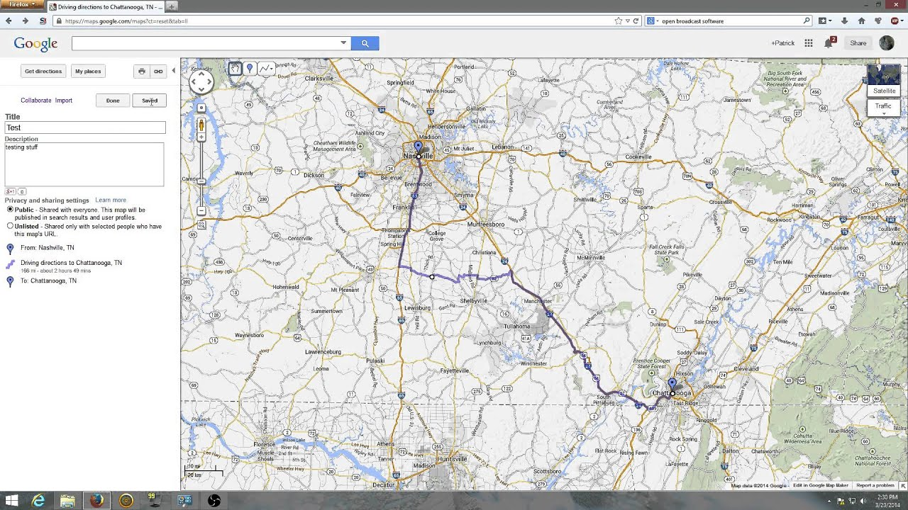 how to create a route in garmin basecamp