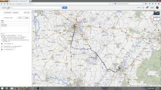 Google to Garmin Basecamp mapping Free HD Video