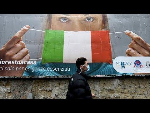Самая опасная страна в мире. Италию спасает весь мир. Коронавирус поглатил страну