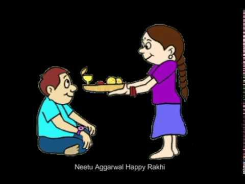 Happy Rakhi,Happy Raksha Bandhan,Greetings,Wishes,Animated Video,Images,E-card,Whatsapp Video