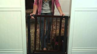 Munchkin Wood & Steel Designer Gate Model 31061  Drugstore.com