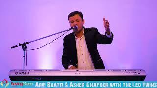 Arif Bhatti & Asher Ghafoor with the Leo Twins