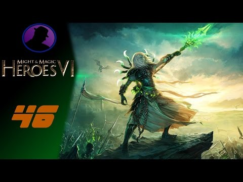 Let's Play Might & Magic Heroes VI - Ep. 46 - Oh Crystal, You Troll!