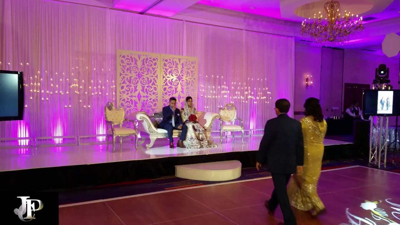Dallas Jpc Lighting Short Clip Indian Wedding Projectors Screens