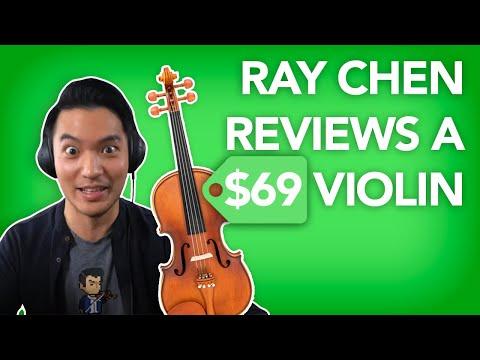 Concert Violinist Reviews A $69 Violin