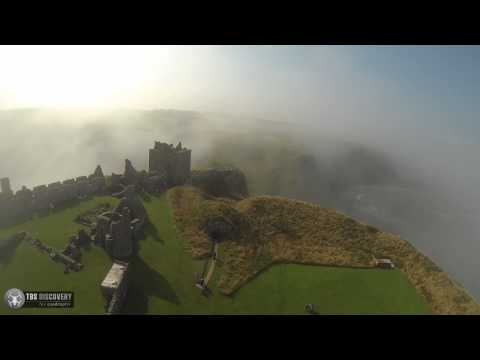 Dunnottar Castle By Stonehaven TBS Discovery FPV FlyBy
