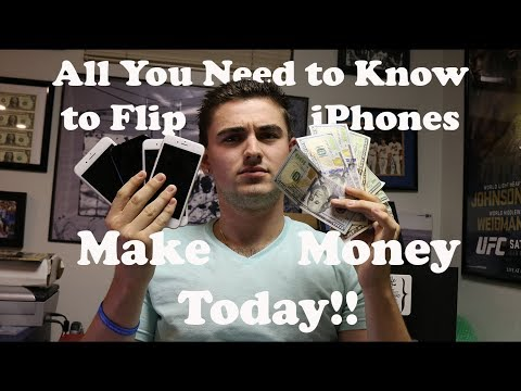 All You Need to Know to Flip iPhones and Make Extra Money TODAY!