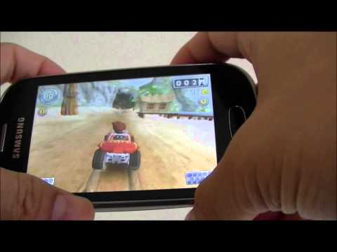 Samsung Galaxy Fame Review Game test