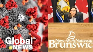 Speaking to reporters on monday, dr. jennifer russell, new brunswick's chief medical officer of health, praised the province's residents, health officials, and...