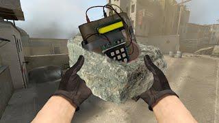CS:GO Прячем бомбу в текстуры
