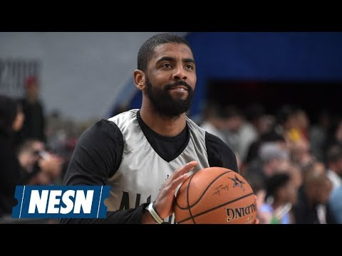 """Kyrie Irving Says Celtics Are """"Building Something Special"""""""