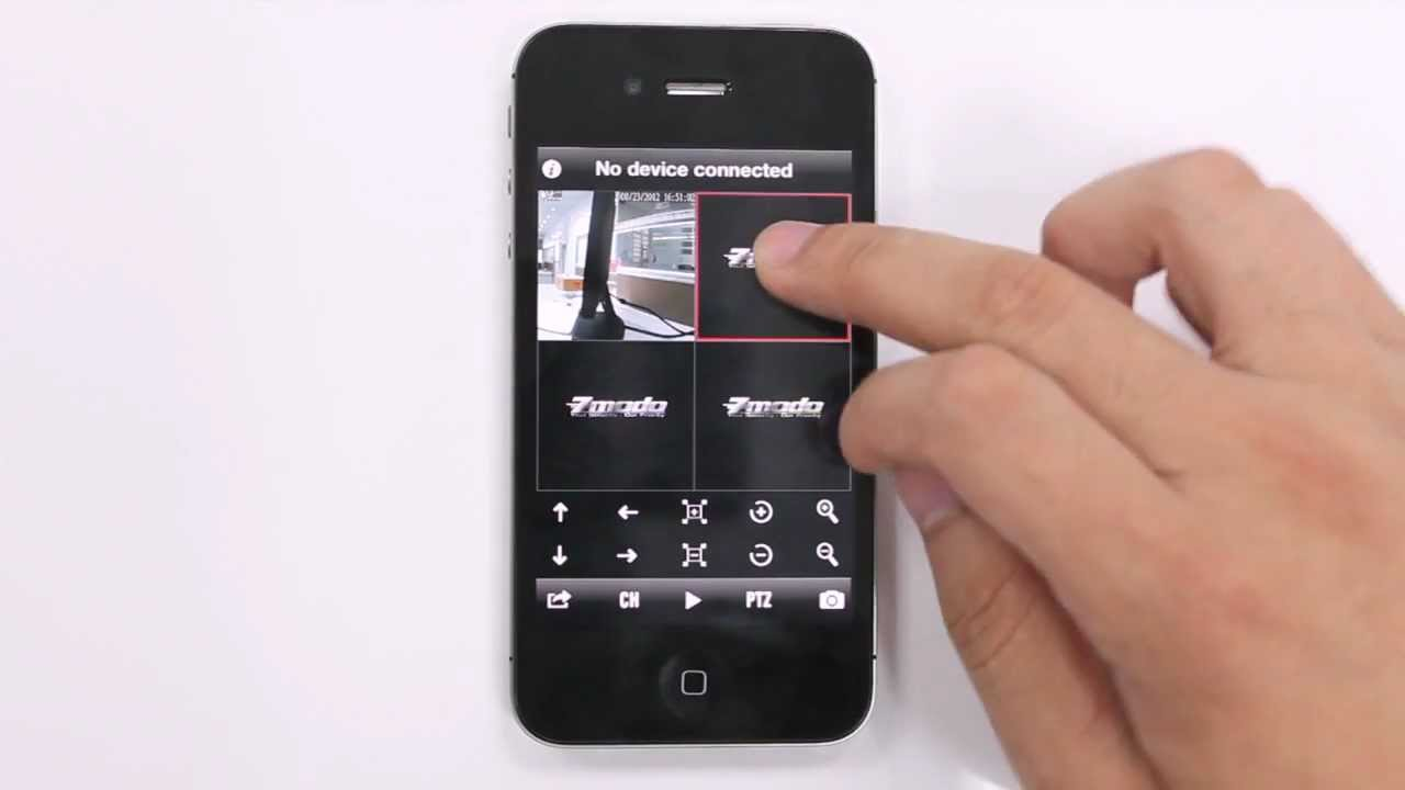 new ip camera iphone app youtube. Black Bedroom Furniture Sets. Home Design Ideas