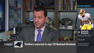 Signing CB Bashaud Breeland would allow Panthers to draft best player  | Mar 13, 2018