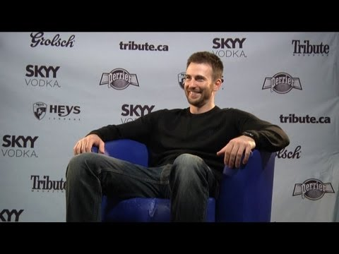 Chris Evans - The Iceman Interview with Tribute at TIFF 2012