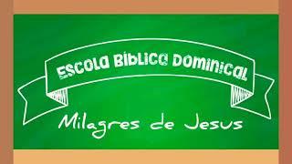"""EBD Geração Kids - Série Milagres de Jesus: """"JESUS ACALMA A TEMPESTADE"""" - IPBSL - 26/07/2020"""