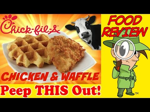 Chick-fil-A® | Chicken & Waffle Review! Peep THIS Out!