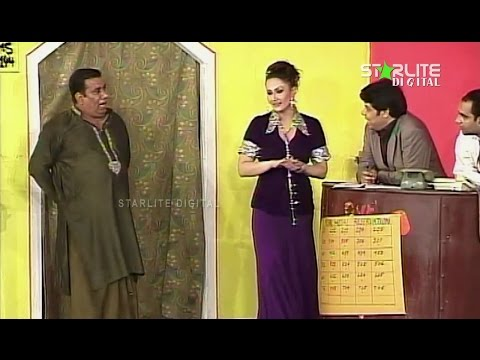 Tere Hussan Ka Jadu Nargis and Nasir Chinyoti New Pakistani Stage Drama Full Comedy Funny Play