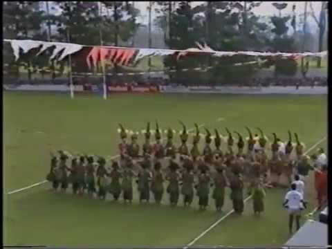 PNG Highlands Zone Vs Australian Kangaroos (1991) - Rugby League Warfare!