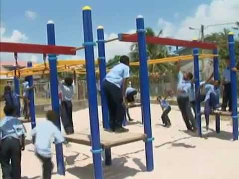 Rotary Project to rejuvenate South Side of Belize City with playgrounds and libraries