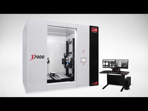 North Star Imaging | X7000 - Industrial CT X-ray System