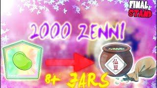 DRAGON BALL Z FINAL STAND | NEW SENZU GLITCH?! | *2000 ZENNI FOR 8+ JARS!!*