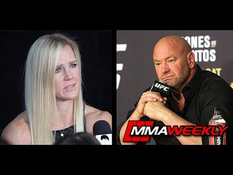 Dana White: Holly Holm Should Consider Retirement  (UFC 239)