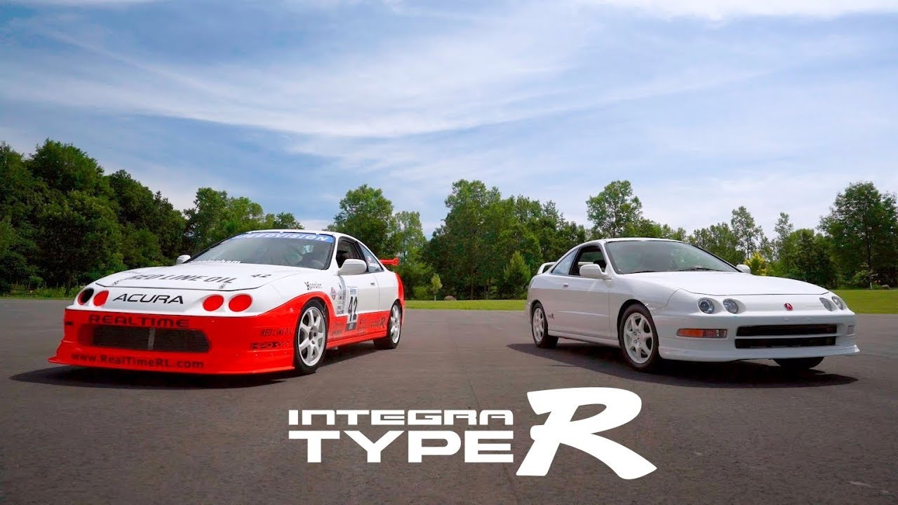 Listen To This Acura Integra Type R Scream At The Track