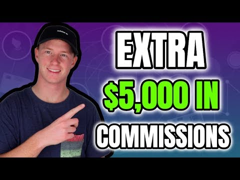 How I Made an Extra $5,000 in Affiliate Commissions Last Month