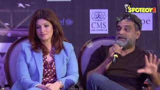 UNCUT- Twinkle Khanna and R Balki talks about Padman Reaction at an Event | SpotboyE