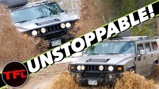 The Hated Hummer H2 Is Astoundingly Good Off-Road!