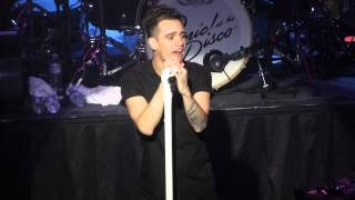 """Girls/Girls/Boys"" Panic! At The Disco@Rams Head Live Baltimore 12/9/13 Too Weird Tour"