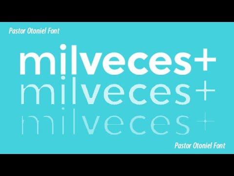 Pastor Otoniel Font - Mil Veces +