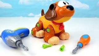 Learn Create & and Play Animals Dog Puppy Best Video Kids Toddler Toys Learning Children DIY Babies