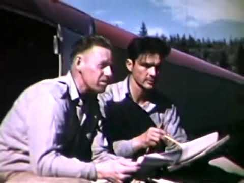 Flying Surveyors - a very early use of helicopters, a 1951 film